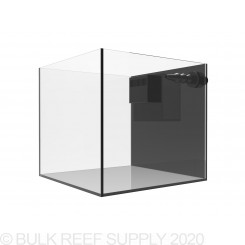 11 Gallon External Overflow Rimless Nano Aquarium