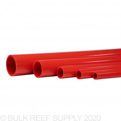 "46"" Red Schedule 40 Pipe"