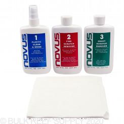 Plastic & Acrylic Polish Kit - 8 oz