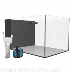 20 Gallon Peninsula Rimless AIO Nano Aquarium