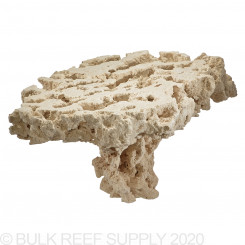 Reef Saver Pedestal Aquarium Dry Live Rock - Frag Top