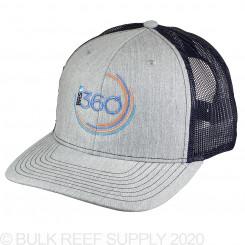 360 Hat - Gray/Navy