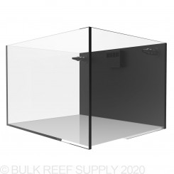 32 Gallon External Overflow Rimless Nano Aquarium