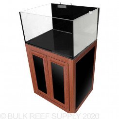 Nuvo EXT 50 Lagoon Aquarium with Wood APS Stand