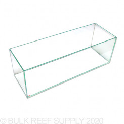 22 Gallon Exquisite Rimless Tank - Low Iron Glass
