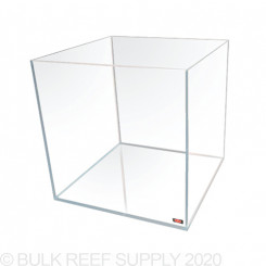 25 Gallon Rimless Cube Tank - Low Iron