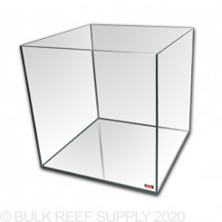 25 Gallon Rimless Cube Tank - Standard Glass