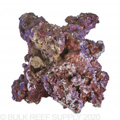 55 Pounds Real Reef Rock - Mixed Sizes