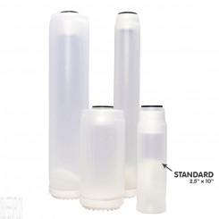 Clear Refillable Cartridge for DI Resin