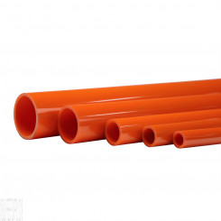 "46"" Orange Schedule 40 Pipe"