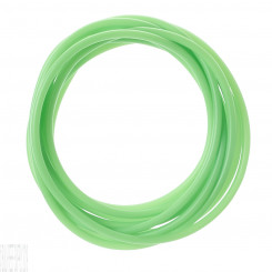 Green Colour-Tracer Silicone Tubing