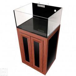 Nuvo EXT 25 Lagoon Aquarium with Wood APS Stand