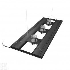 "48"" Hybrid T5HO 4x54W Fixture With Three A360X Brackets"