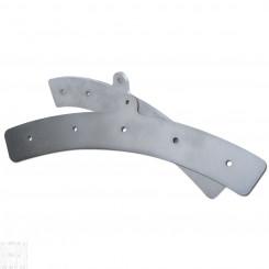 Silver 5-Hole LED Mounting Bracket