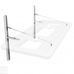 Floating Suspension Hybrid Light Fixture Hanging System - White