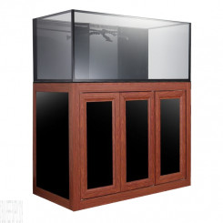 Nuvo INT 100 Aquarium with Wood APS Stand