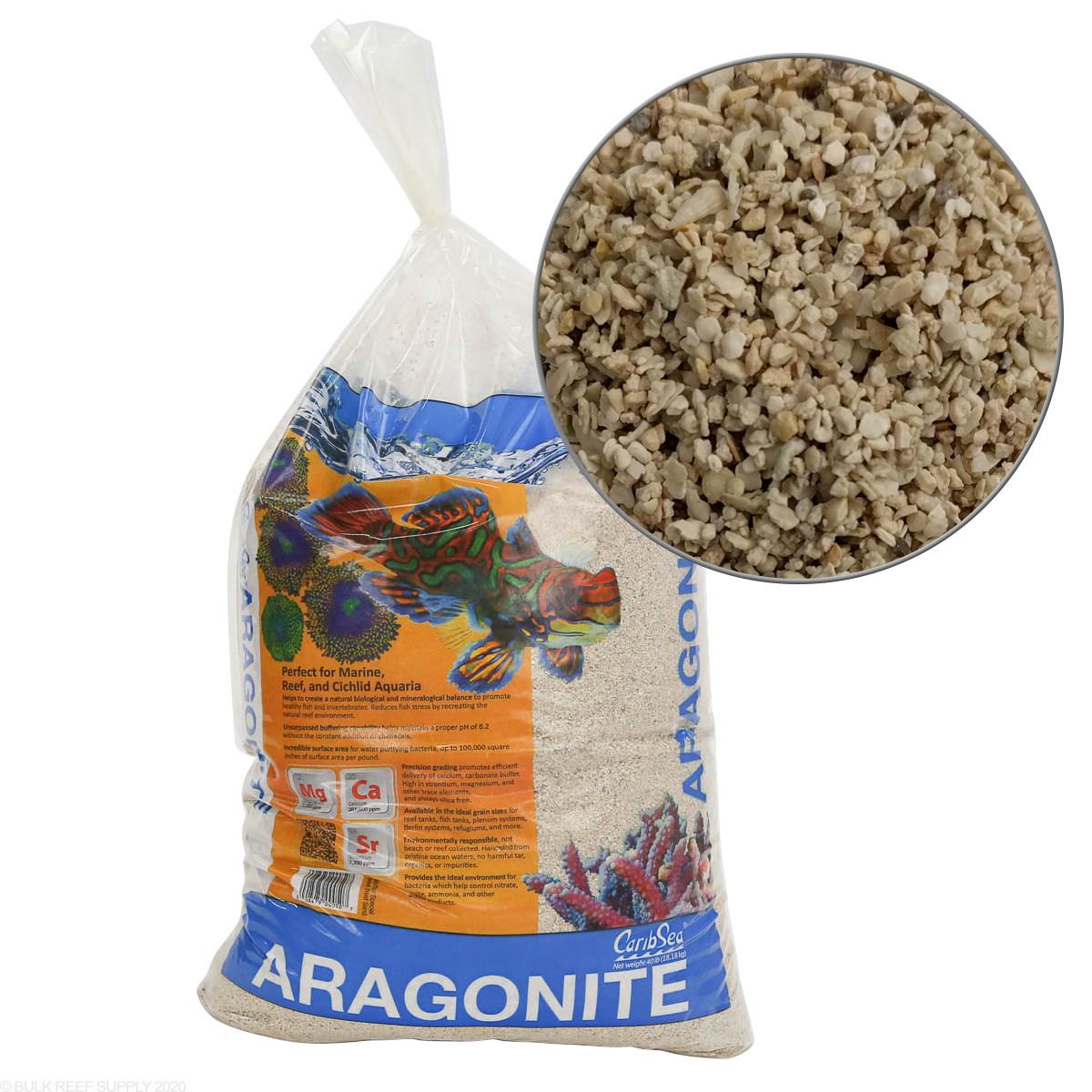 Aragonite Special Grade Dry Sand 40lbs