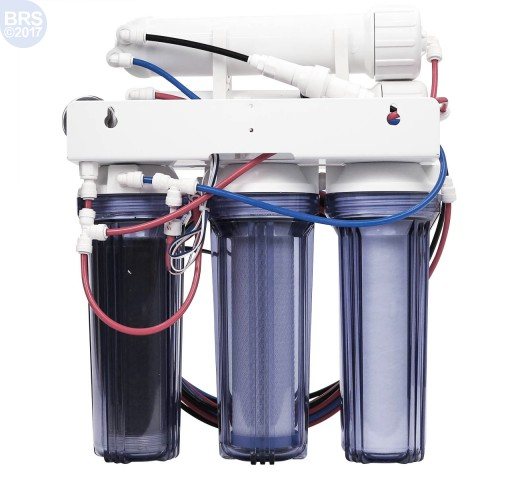 4 Stage 150GPD Plus Water Saver RO/DI System - Bulk Reef Supply