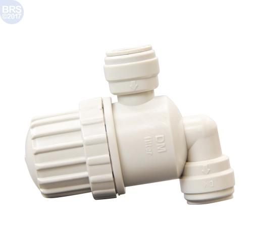 "1/4"" x 1/4"" Push Connect DMFit Filter Strainer"