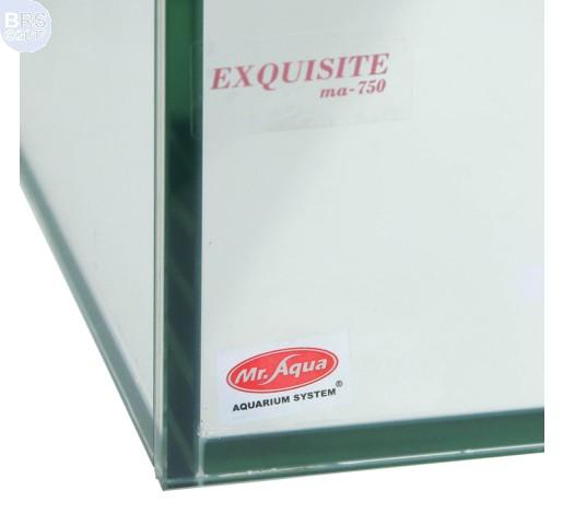 22 Gallon Exquisite Rimless Tank - Standard Glass - Mr. Aqua