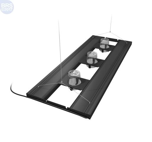 "36"" Hybrid T5HO 4x39W Fixture with LED Mounting System - Aquatic Life Ecotech Mounts"