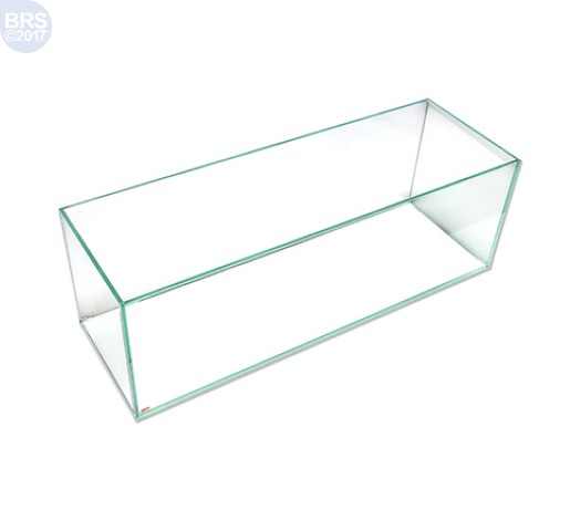 12 Gallon Bookshelf Rimless Tank - Low Iron Glass