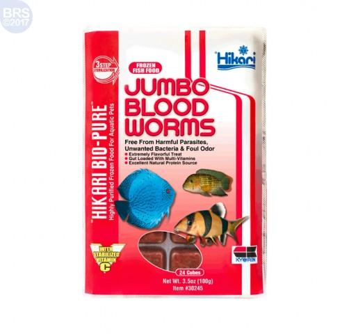 Bio-Pure Frozen Jumbo Blood Worms - Hikari
