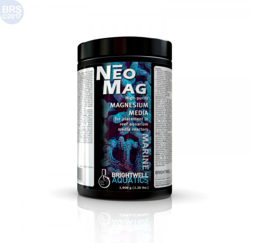 NeoMag - High-purity Magnesium Media - Brightwell Aquatics (Cal, Alk and Trace Elements)
