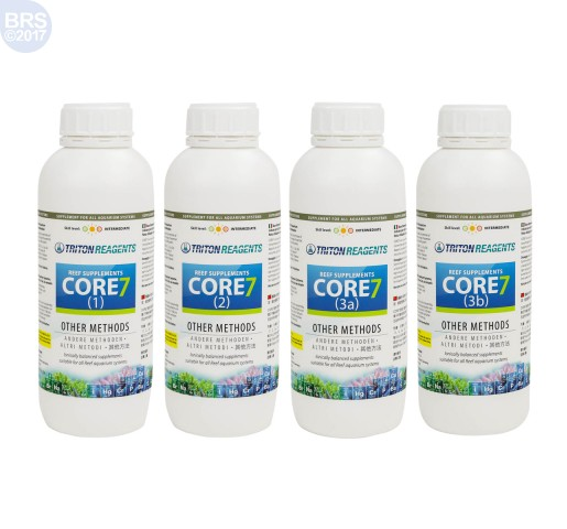 Core7 Reef Supplements 1000mL Set - Triton