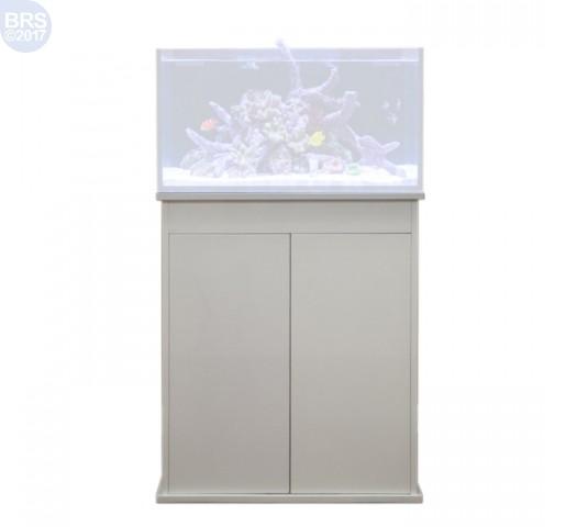 50 Fusion Lagoon High Gloss White Stand