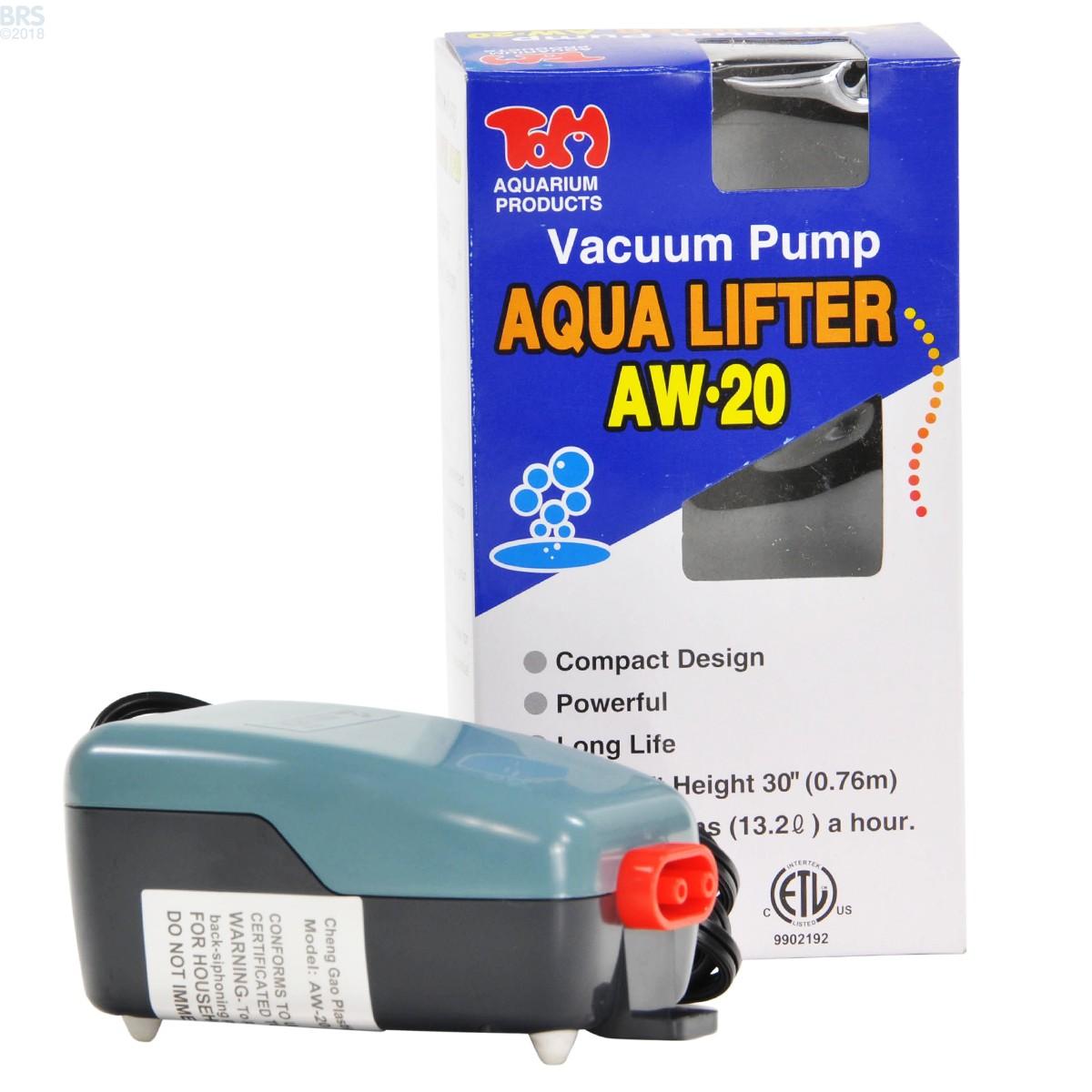 Aqua Lifter Vacuum Pump Tom S Aquatics Bulk Reef Supply
