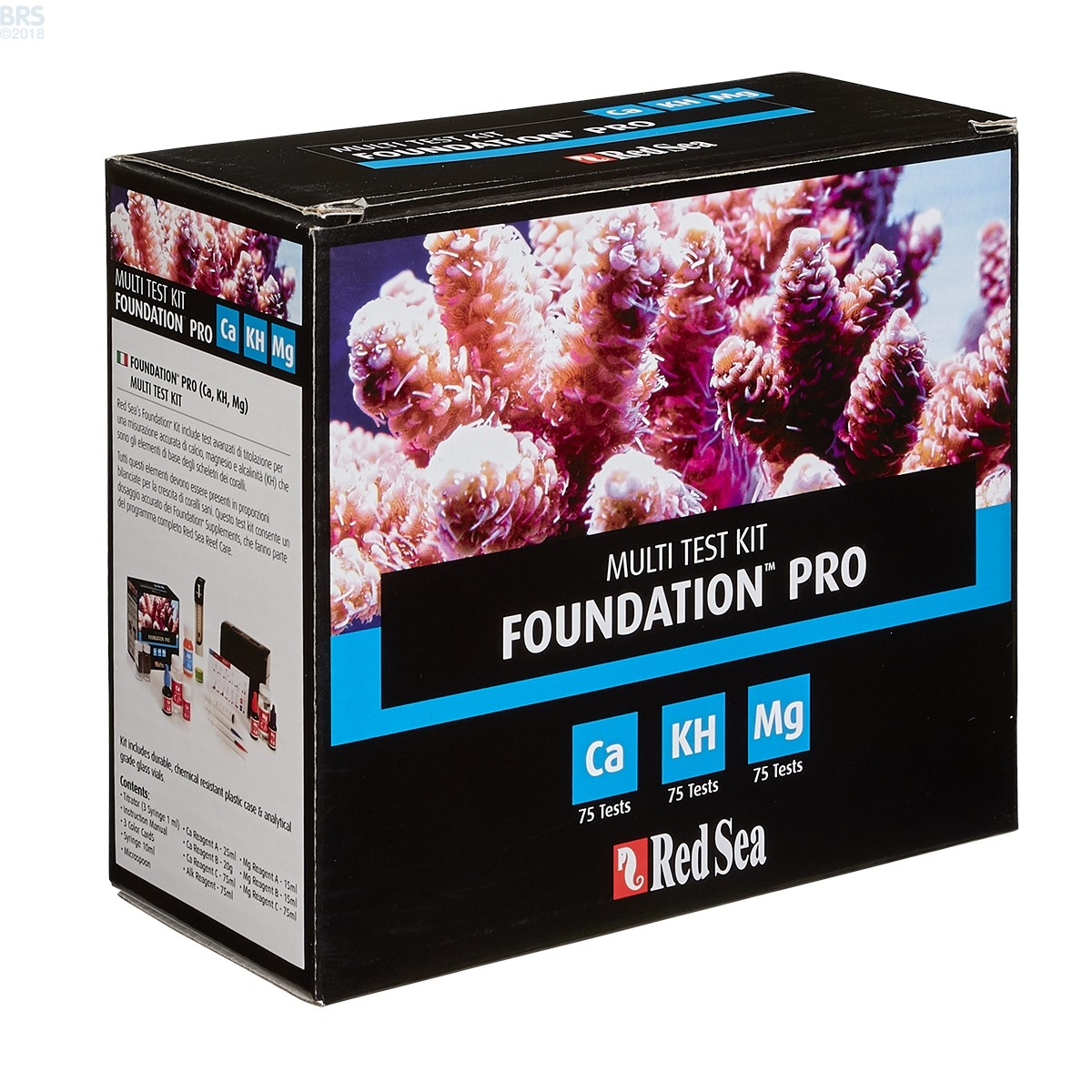 Red Sea Reef Foundation Pro Multi Test Kit Ca Kh Mg