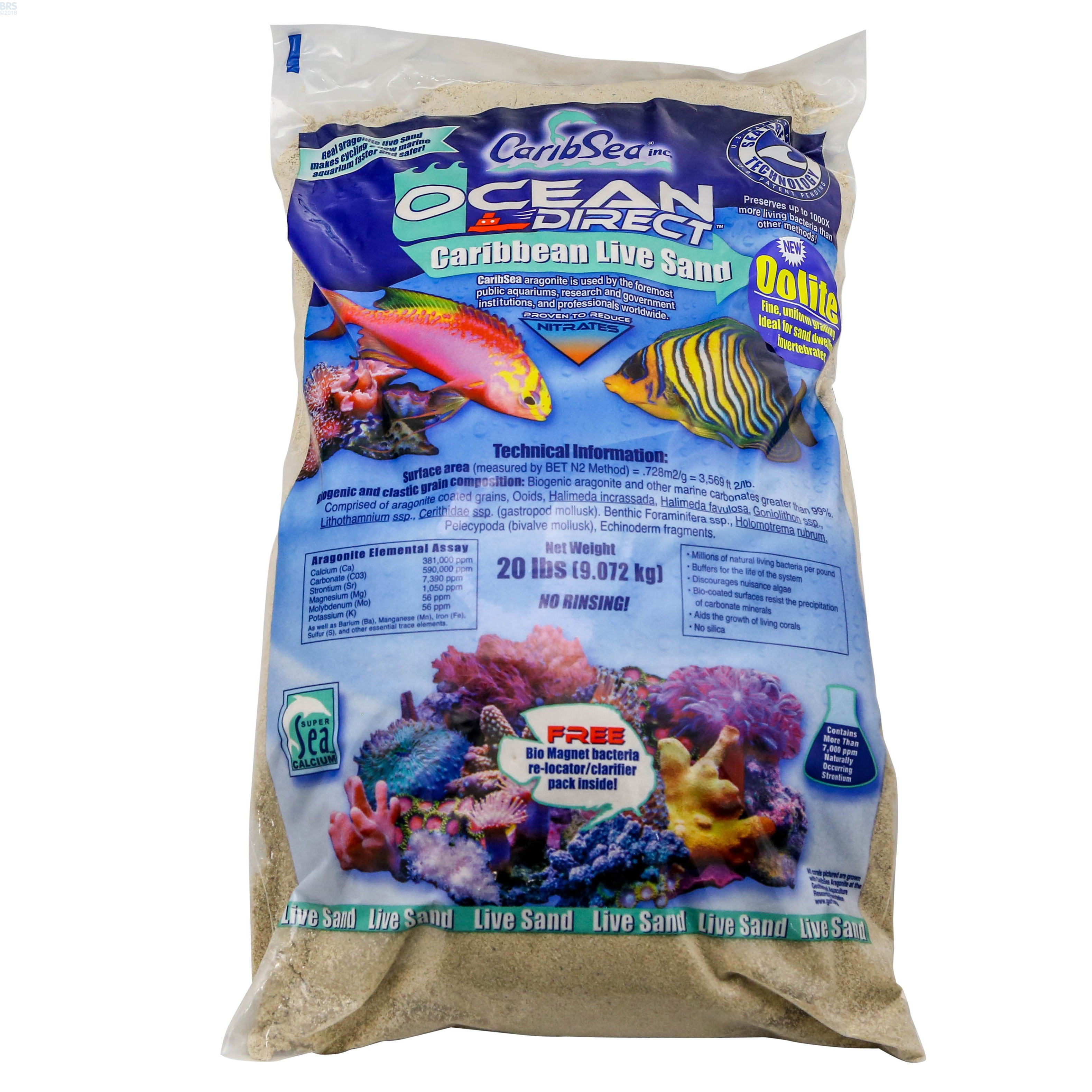 Oolite Ocean Direct Live Reef Sand Bulk Reef Supply