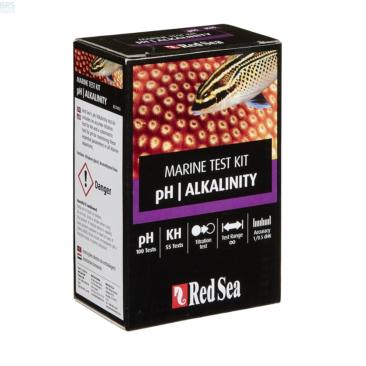 Red Sea Ph Alkalinity Test Kit Bulk Reef Supply