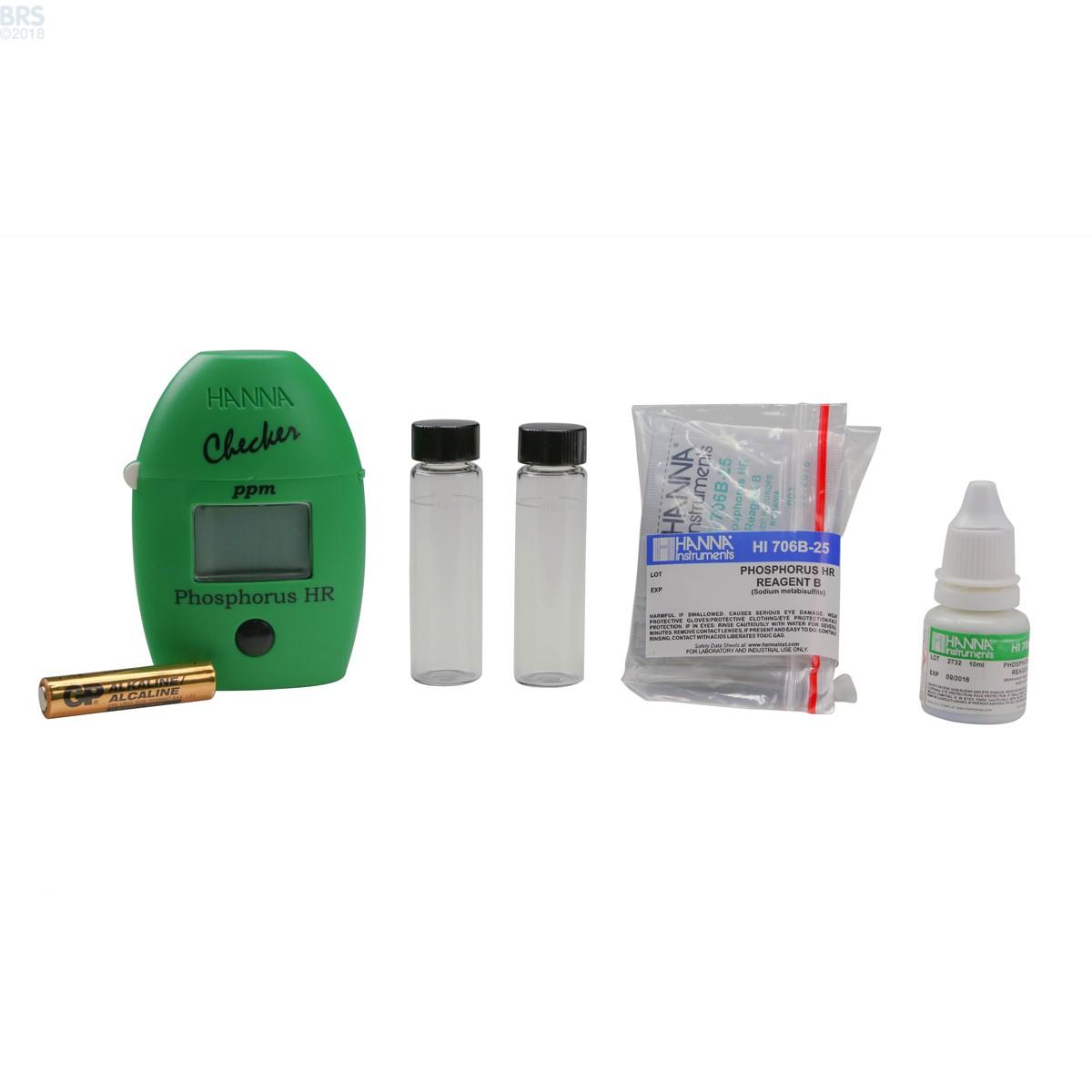 Phosphate High Range Colorimeter Hi717 Hanna Checker