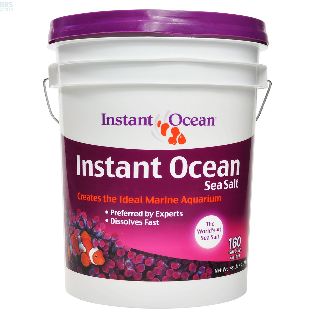5 Gallon Mix Instant Ocean : Sea salt mix instant ocean bulk reef supply