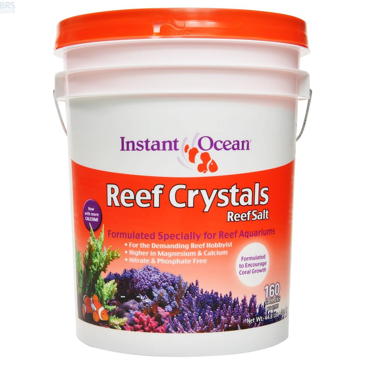 Instant Ocean 200 : Reef crystals salt mix instant ocean bulk supply