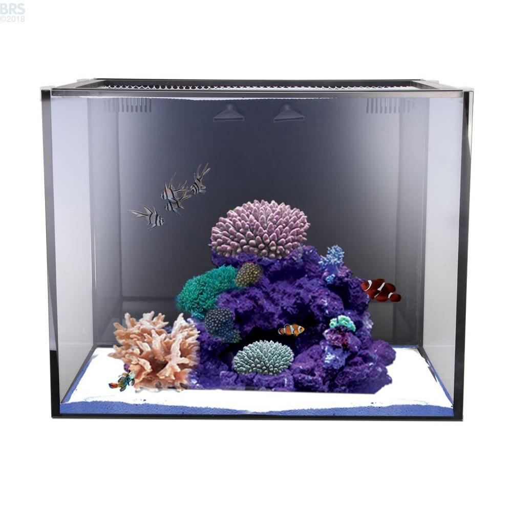 Nuvo Fusion 40 Gallon Saltwater Aio Aquarium Kit Nuvo