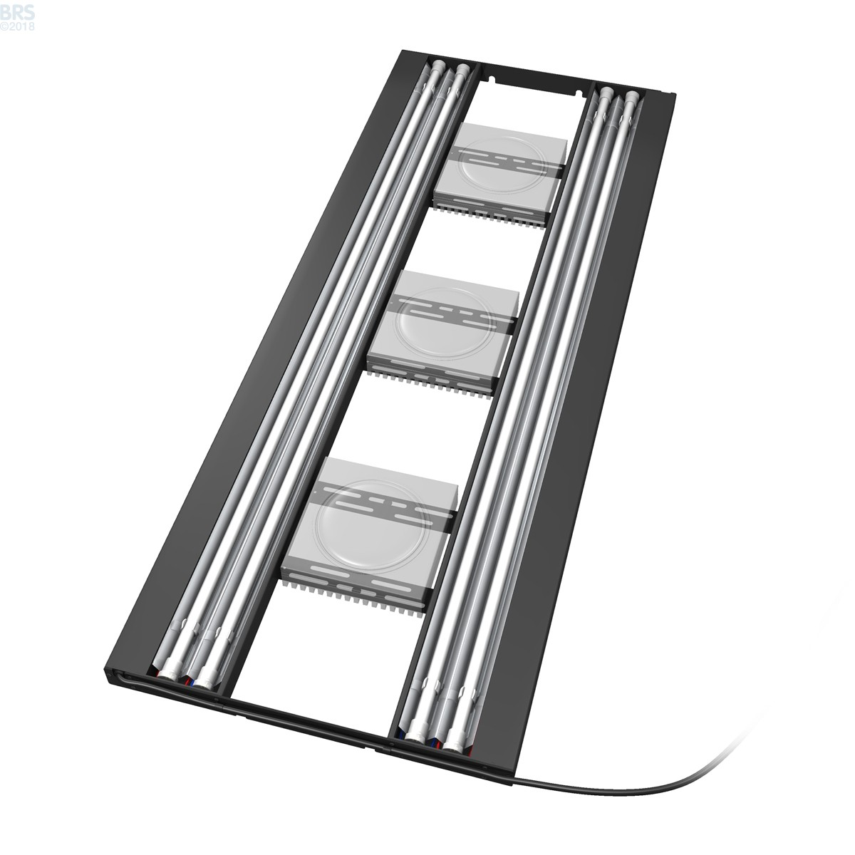 48 Quot Hybrid T5ho 4x54w Fixture With Led Mounting System