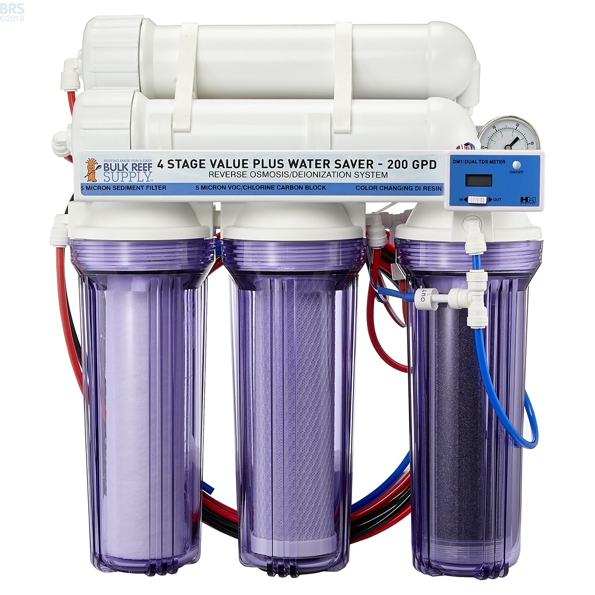 4 Stage Value Plus Ro Di System Bulk Reef Supply Bulk
