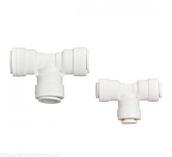Mur-lok RO Tee Push Connect - Available in 3 Sizes and 2 Colors
