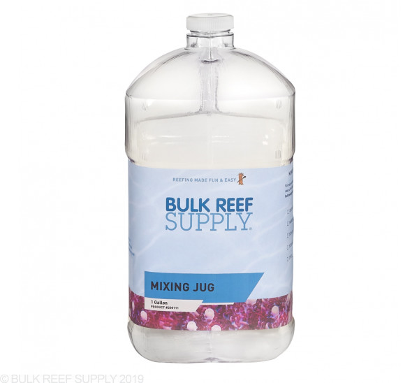 Mr. Chili Mixing Jug - Clear 1 Gallon Jug - Bulk Reef Supply