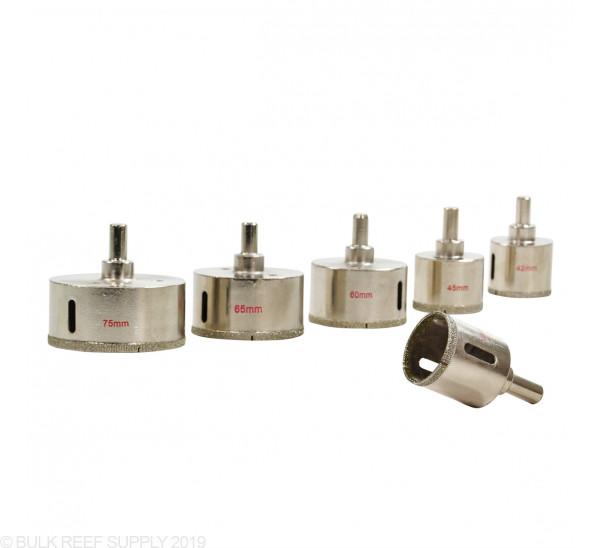 53 mm Diamond Coated Glass Drill Bit