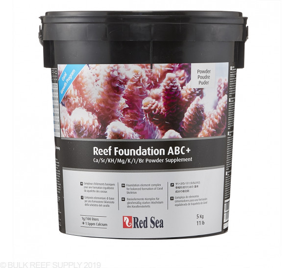 5 kg of Red Sea Reef Foundation ABC+