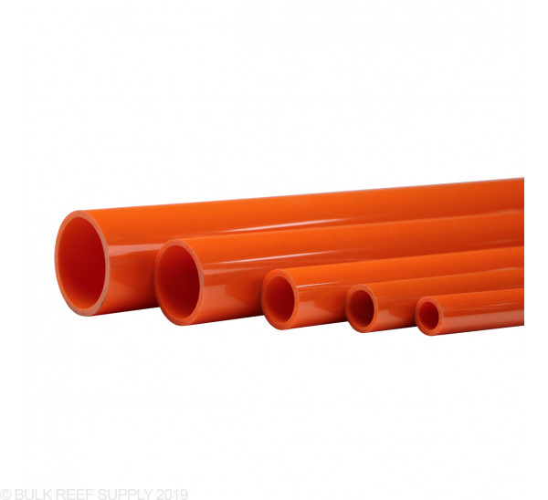 Orange Furniture Grade Schedule 40 Pipe (5 ft)