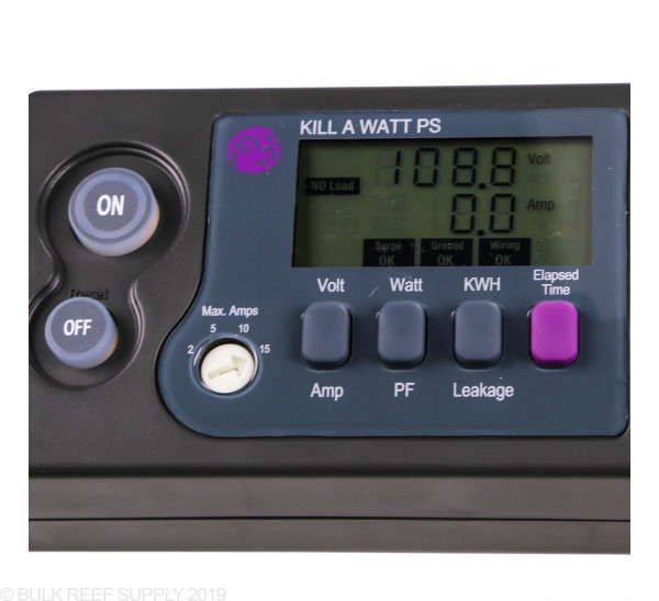 Kill A Watt PS-10 Electricity Usage Monitoring Power Strip
