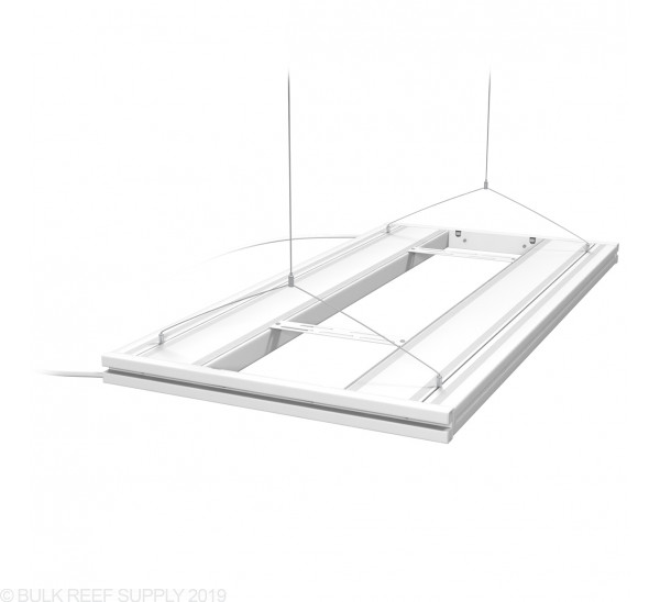 """36"""" Hybrid T5HO 4x24W Fixture with LED Mounting System White - Aquatic Life"""