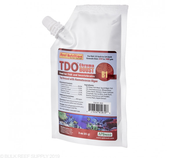 TDO-B1 Chroma BOOST Granule Fish Food - Reef Nutrition