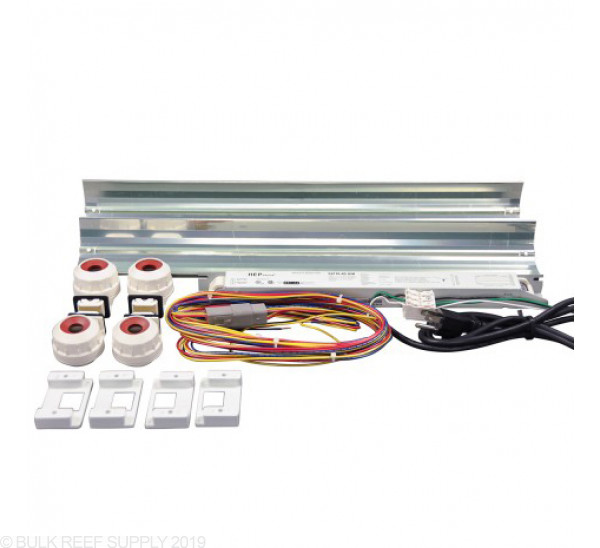 4 Ft LET Lighting 2x54W Miro-4 T5 High Output Retrofit Kit