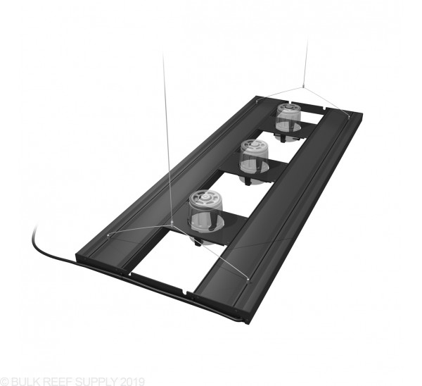 "48"" Hybrid T5HO 4x54W Fixture with LED Mounting System - Aquatic Life Ecotech Mounts"